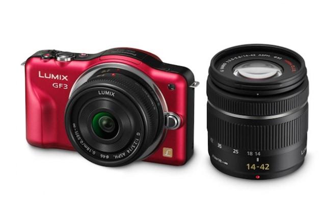 Panasonic Lumix GF3 - 660 €