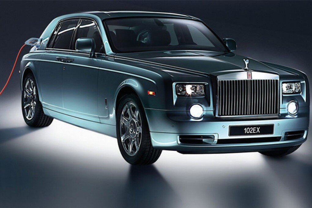 Rolls-Royce 102EX, lussuosa ma dall'anima verde