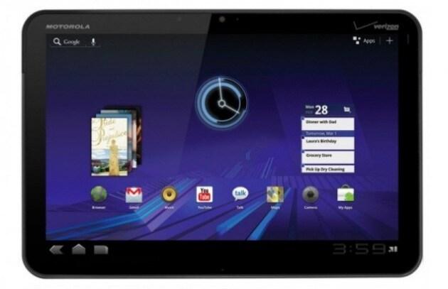 Android 3.0 si mostra in tutta la sua bellezza