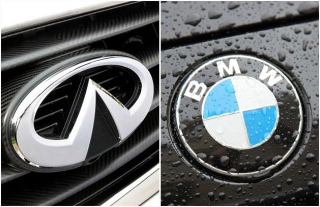 Strada ibrida: Bmw Active Hybrid 3 vs Infiniti M35h