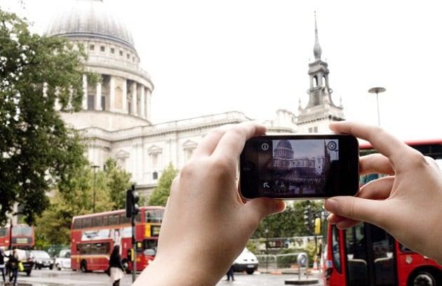 Viaggia nel tempo con l'iPhone e Historypin
