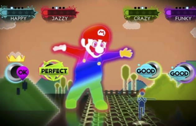Super Mario scende in pista con Just Dance 3