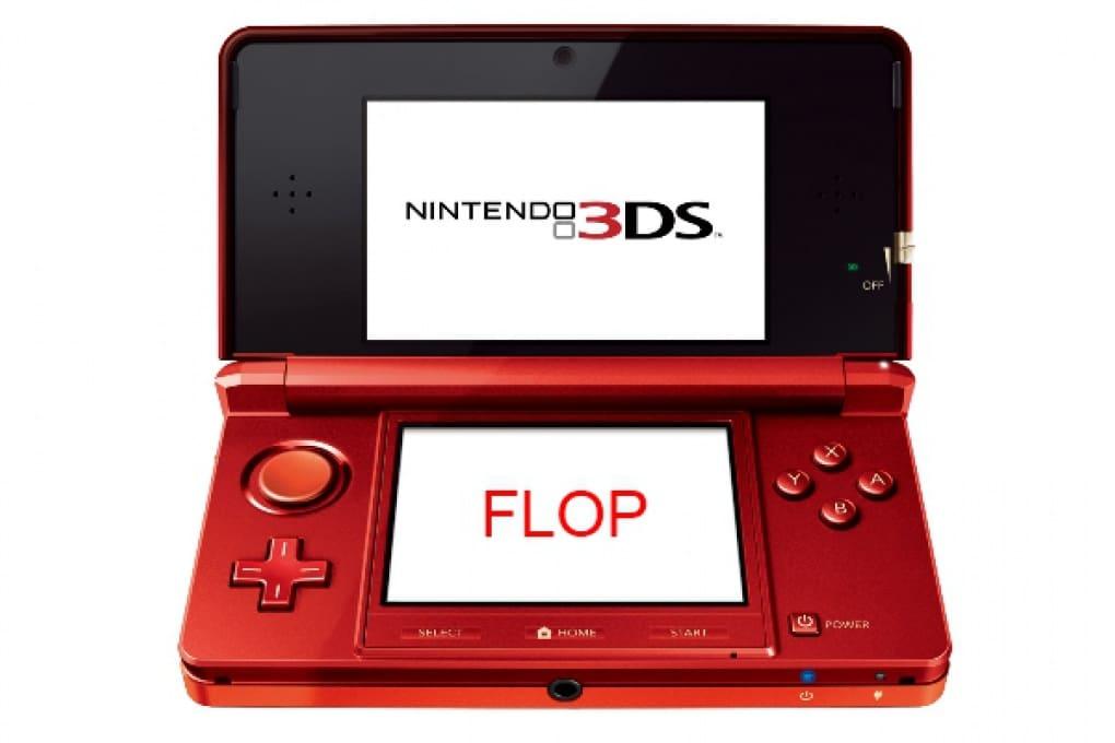 Il 3DS va male e le azioni Nintendo sono in picchiata