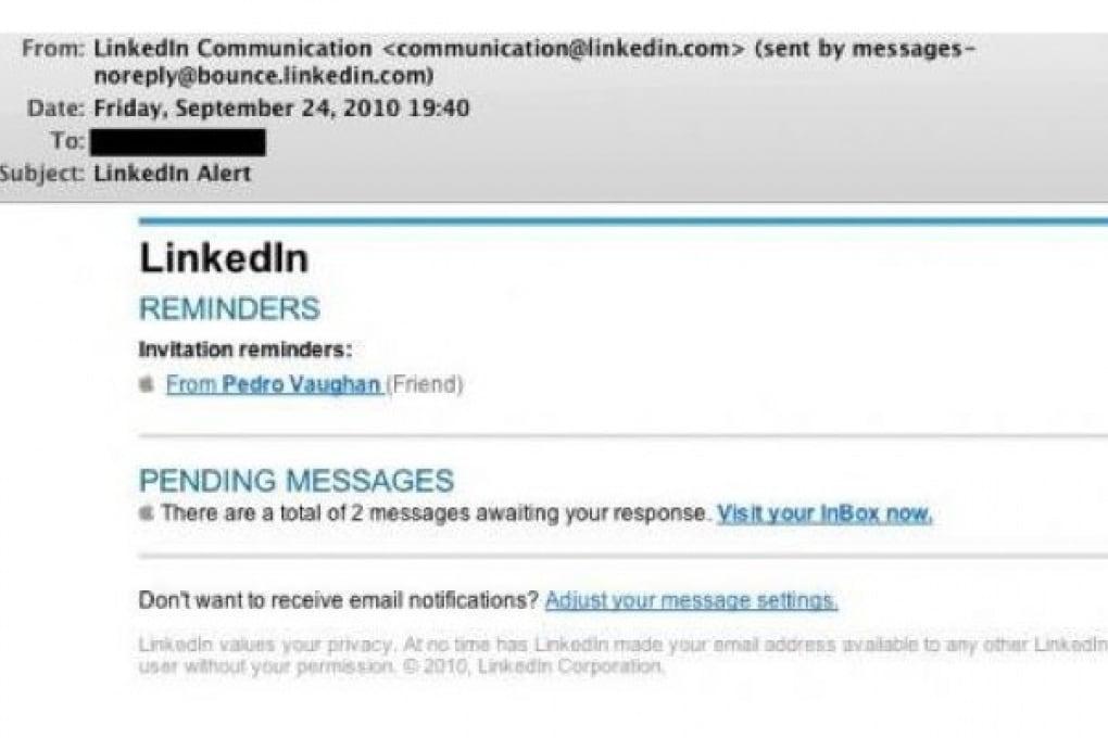 Un malware si trasmette attraverso falsi inviti di Linkedin