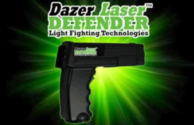 Le pistole laser della polizia USA