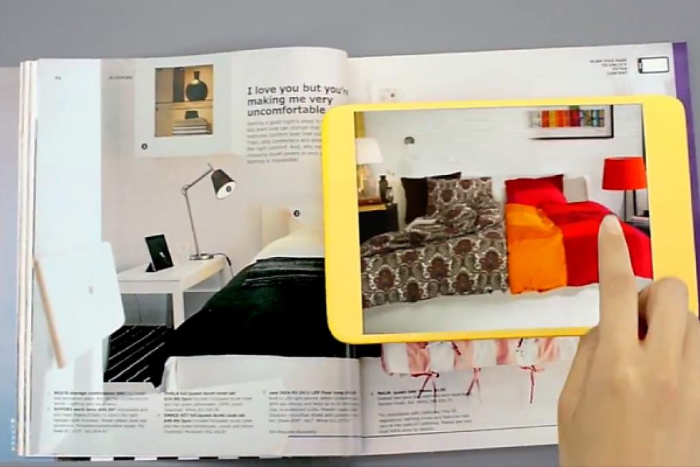 Catalogo IKEA a realtà aumentata