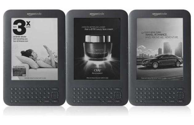 Amazon: arriva il kindle con la pubblicità