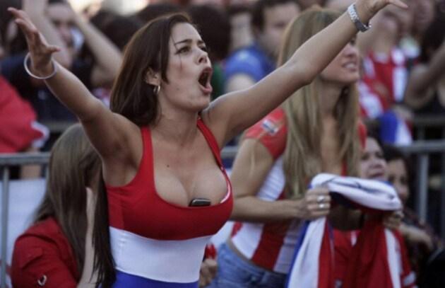 Larissa Riquelme: nuda per la vittoria