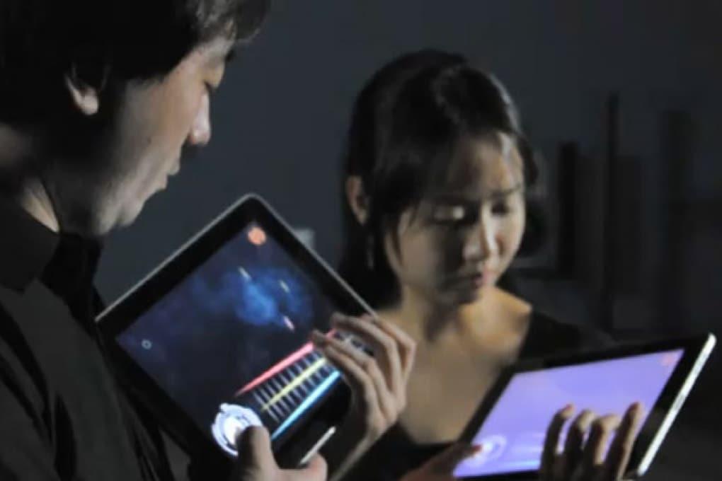 L'iPad diventa un violino