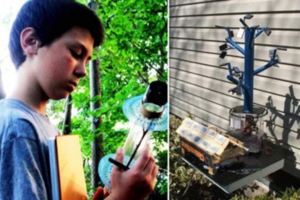 Un ragazzino di 13 anni rivoluziona il modo di costruire i pannelli solari