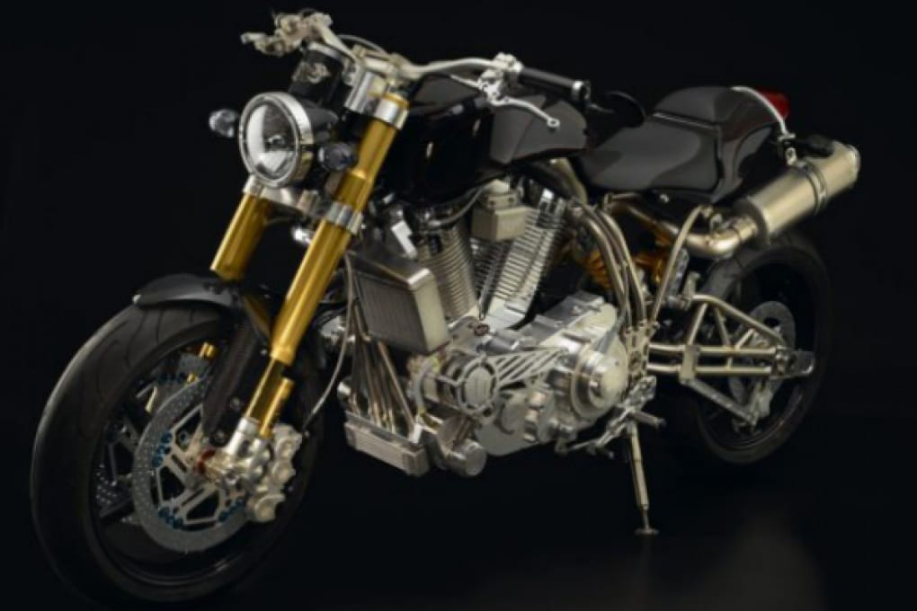 La belva di titanio da 212.000 euro