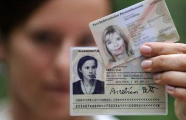 Carte d'identità elettroniche tedesche a rischio