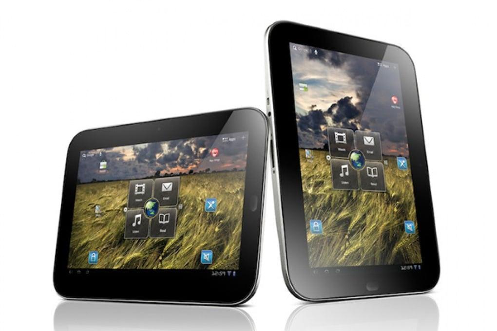 Tris di tablet di Lenovo