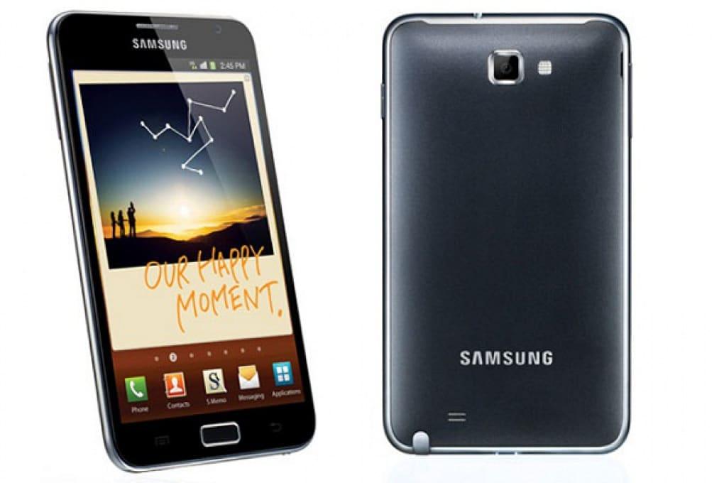 Samsung Note: una via di mezzo tra smartphone e tablet