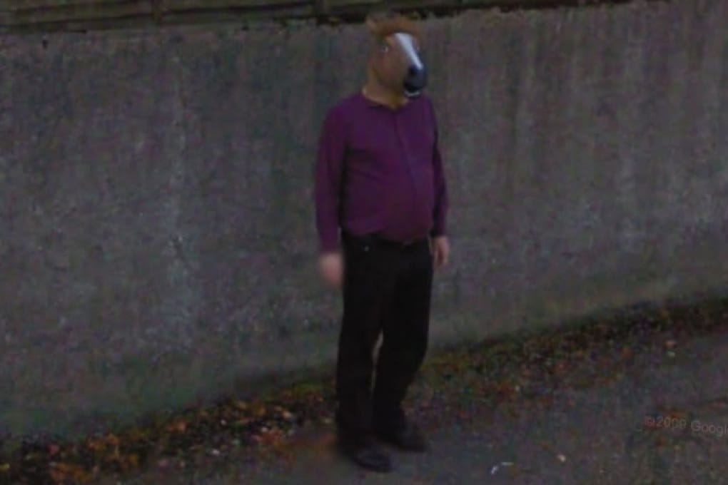 Google Street View: il mistero dell'uomo cavallo