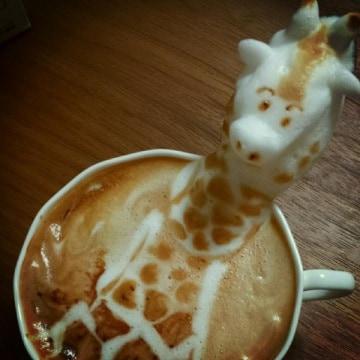 Cappuccini 3D: l'arte in tazza grande di Kazuki Yamamoto