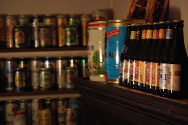 Perché le bottiglie di birra sono scure?