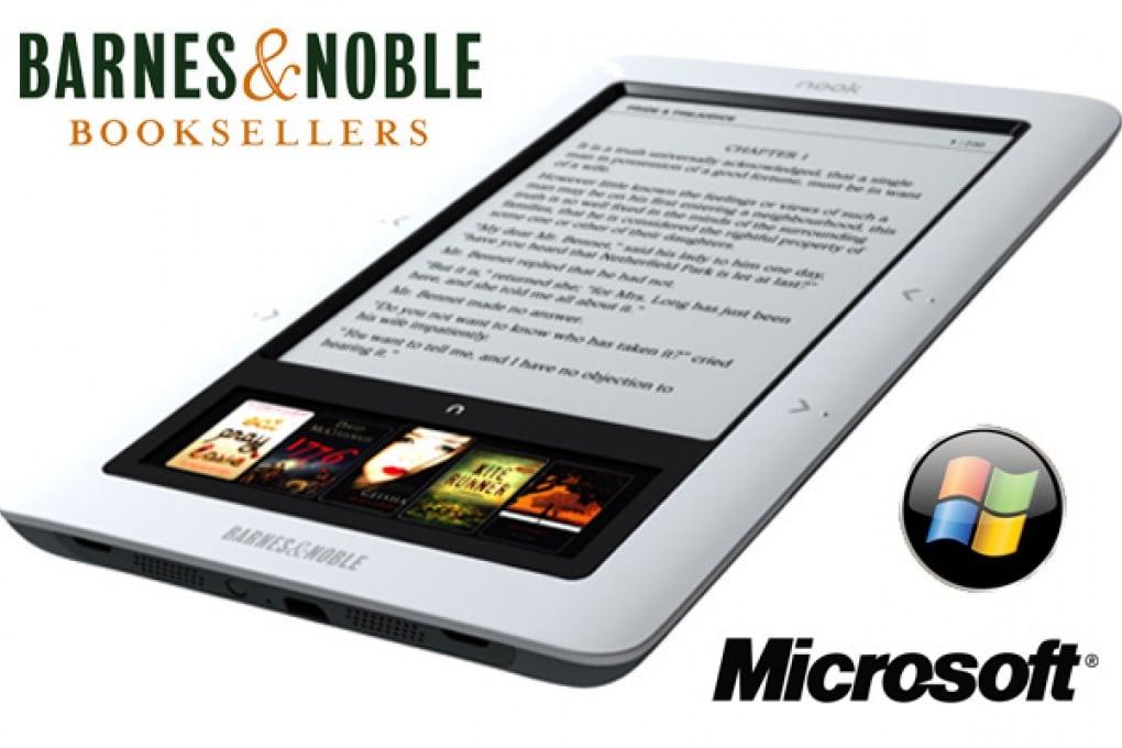 Microsoft si allea con Barnes & Noble