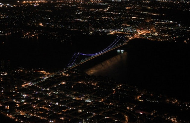 New York in 3D a colpi di laser