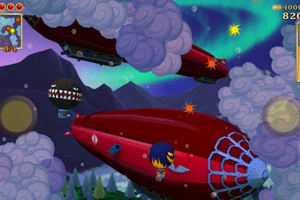 Pilota la mongolfiera nei cieli di Rogue Sky