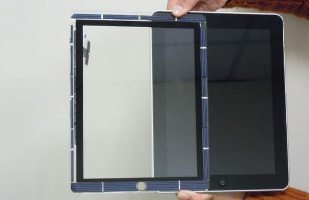 Ecco il primo touchscreen solare