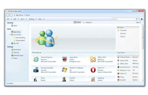 Web-scoop: ecco l'App Store di Windows 8