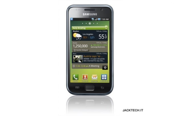 Samsung i9000 Galaxy S – 549 €