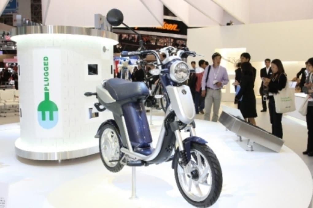 Il nuovo scooter elettrico di Yamaha