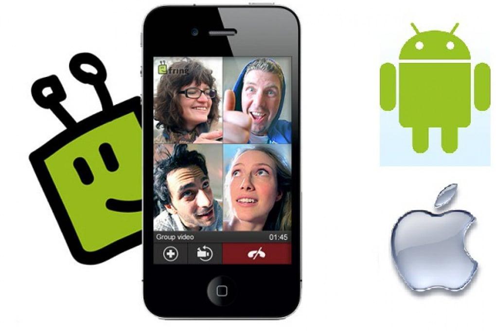 Fring porta su iPhone le videochiamate di gruppo!