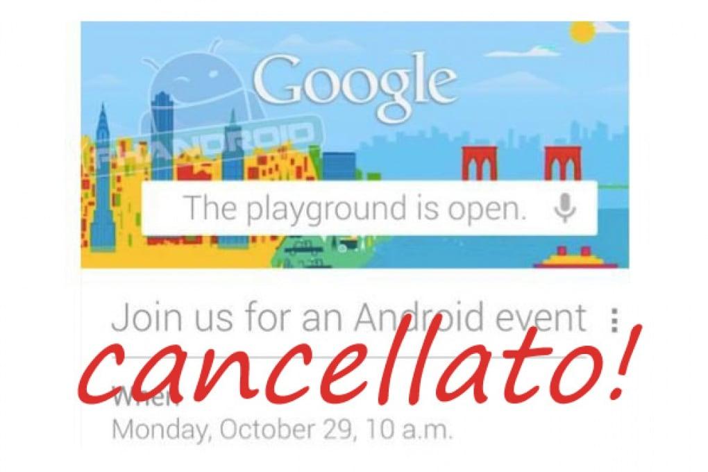 Google Android (ab)battuto dall'uragano Sandy