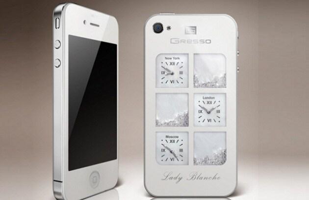Lady Blanche: un iPhone 4 da 30.000 dollari!