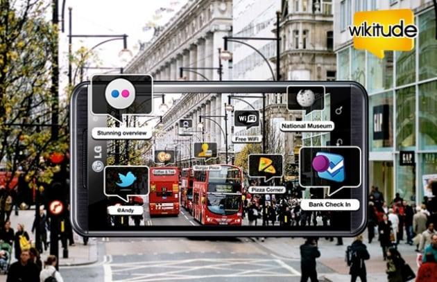 Primo browser 3D con realtà aumentata