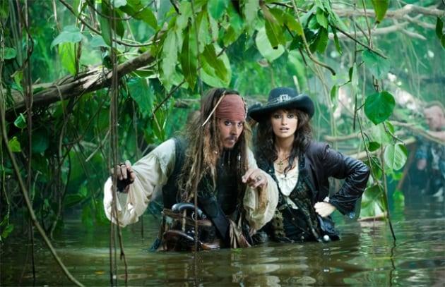 Cast Pirati dei Caraibi a Mosca