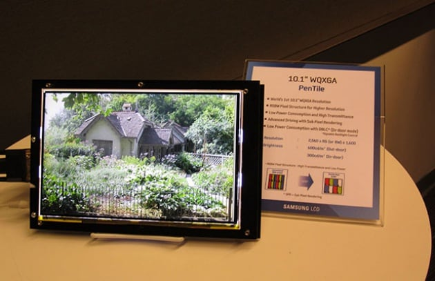 Samsung: display per tablet migliore del full HD