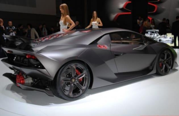 Lamborghini Sesto Elemento Punta Sul Carbonio Focus It
