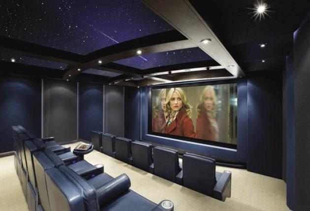 Home Theater: stanze da sogno