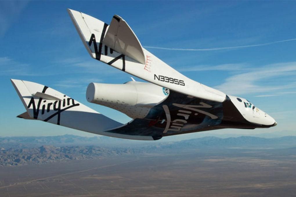 Prove di volo con pilota per l'astronave Virgin Galactic