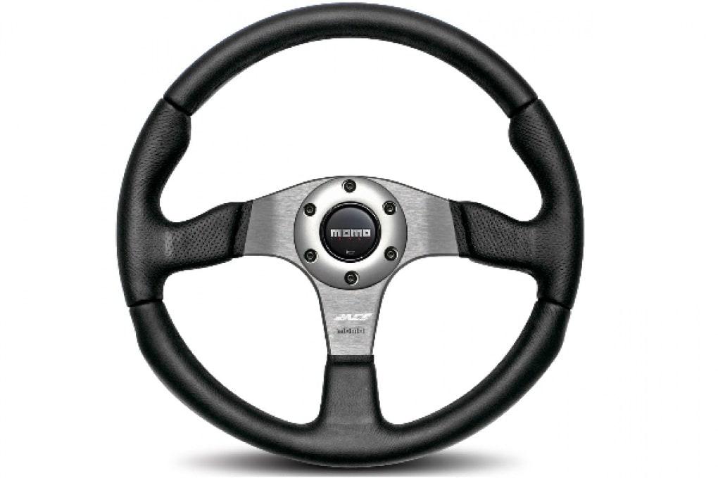 Un volante che vibra ti aiuta a curvare