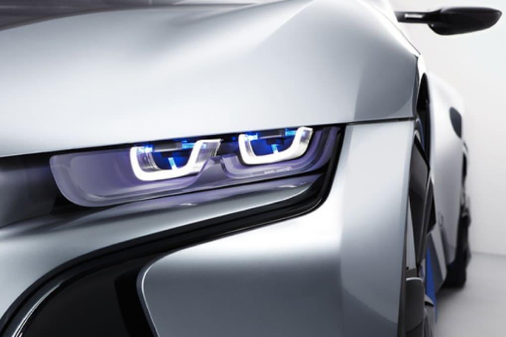 BMW: inizia l'era delle luci laser