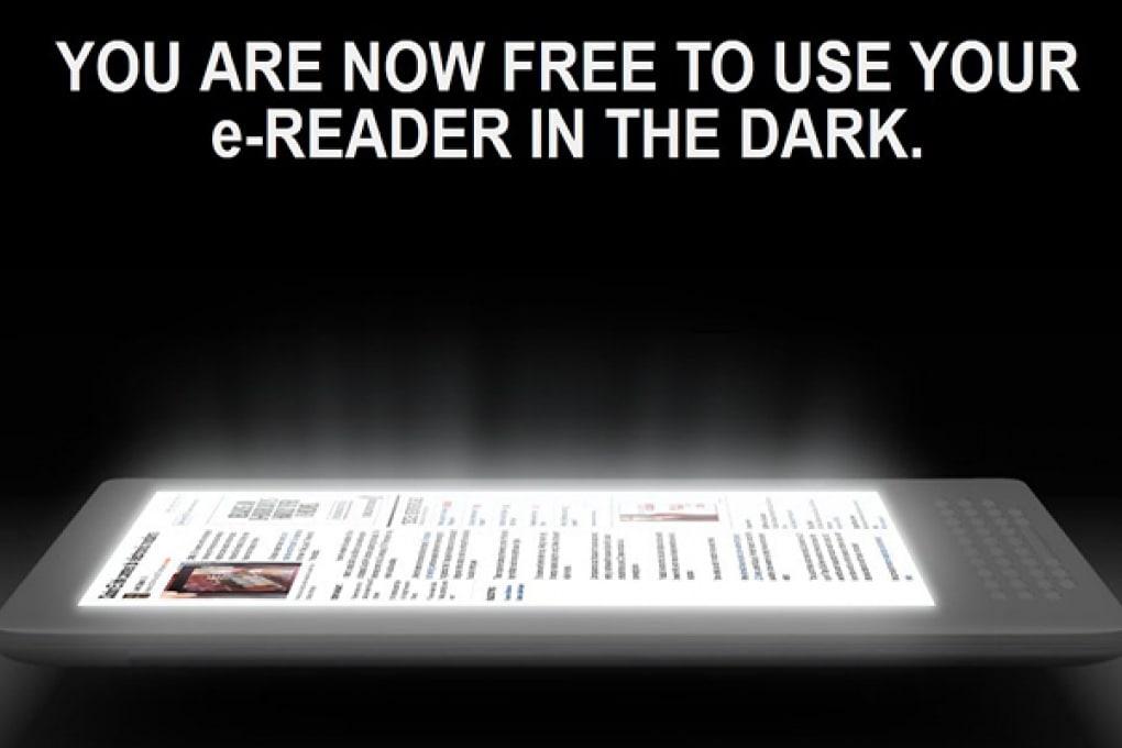 Luminosa tecnologia per leggere gli ebook al buio