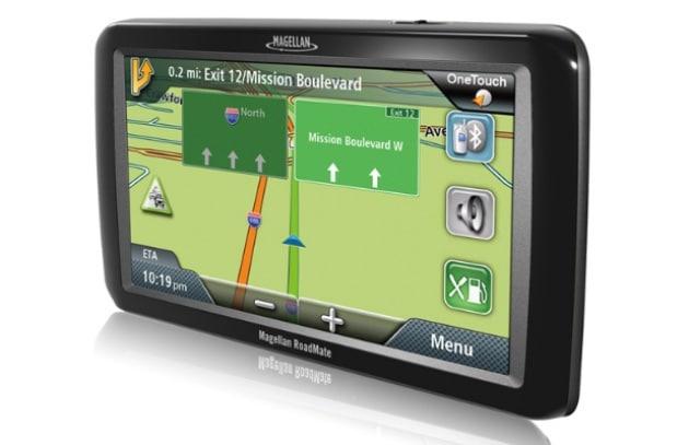 Magellan: GPS con videocamera per la retro