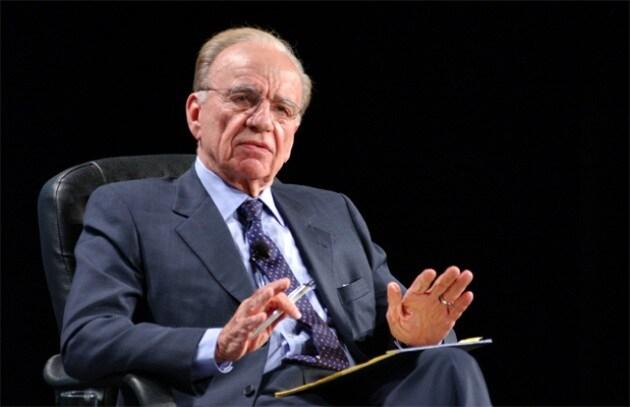 Rupert Murdoch assume PR