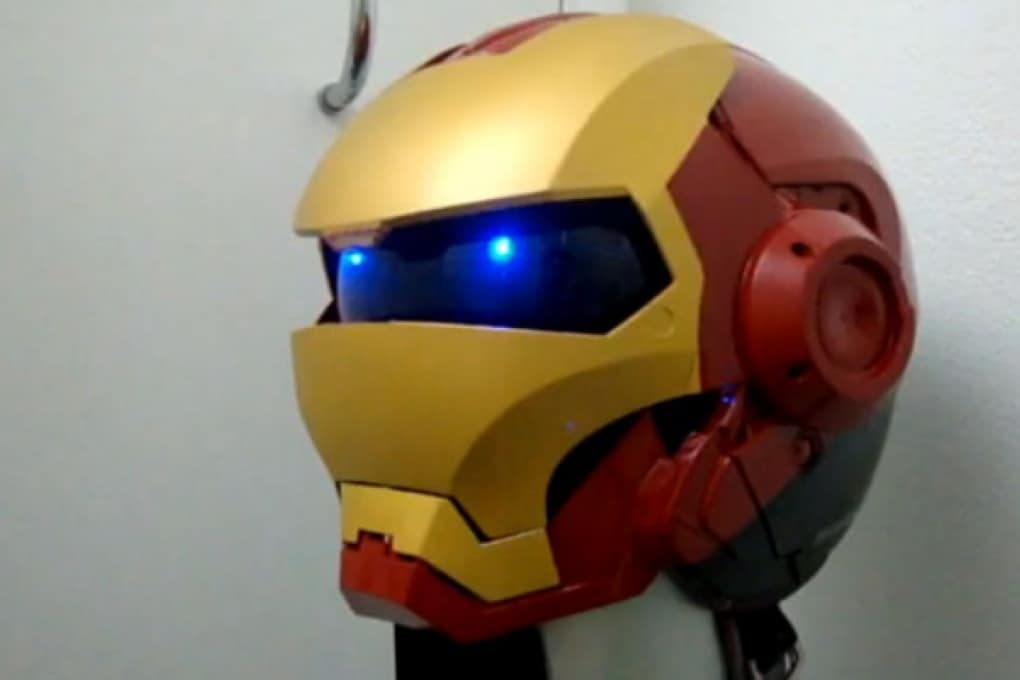 Il casco di Iron Man per andare in moto