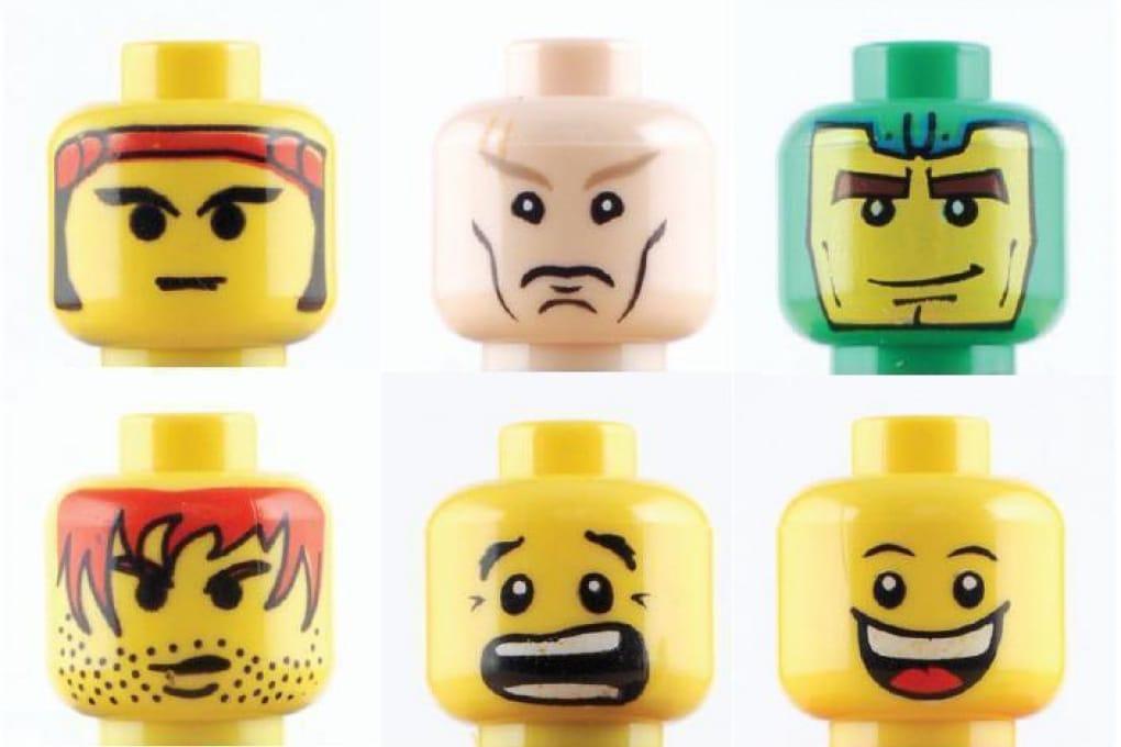 Le facce del Lego sono sempre più arrabbiate