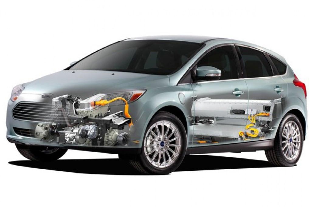 La Ford Focus elettrica consuma pochissimo
