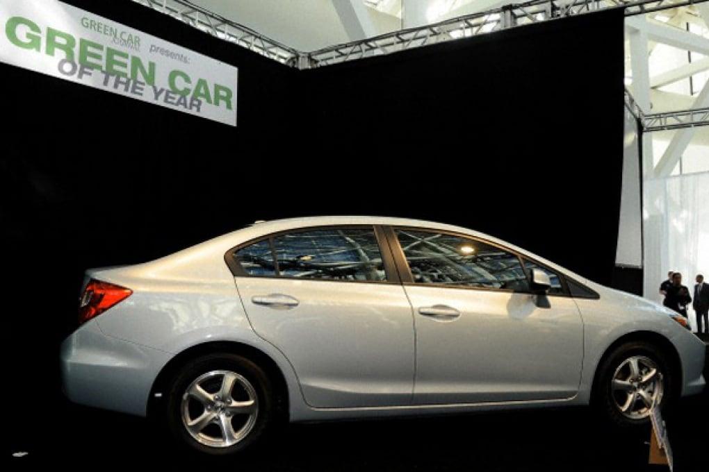 Honda Civic è la più ecologica dell'anno