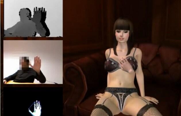 I porno videogames per Kinect? No, grazie