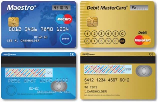 Arrivano le carte di credito hi-tech