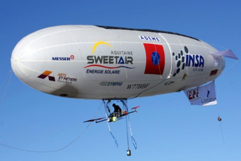 Un dirigibile solare sul canale della Manica