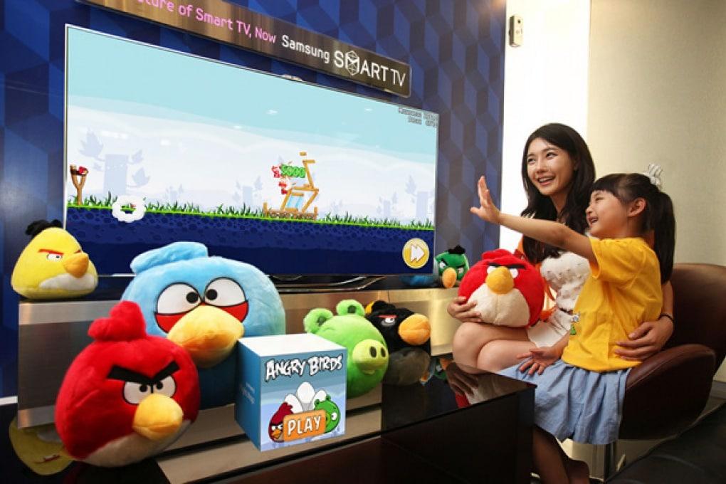 Angry Birds svolazza sulle Samsung Smart TV